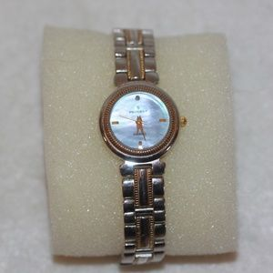 PEUGEOT Women's Diamond Gold Tone Watch